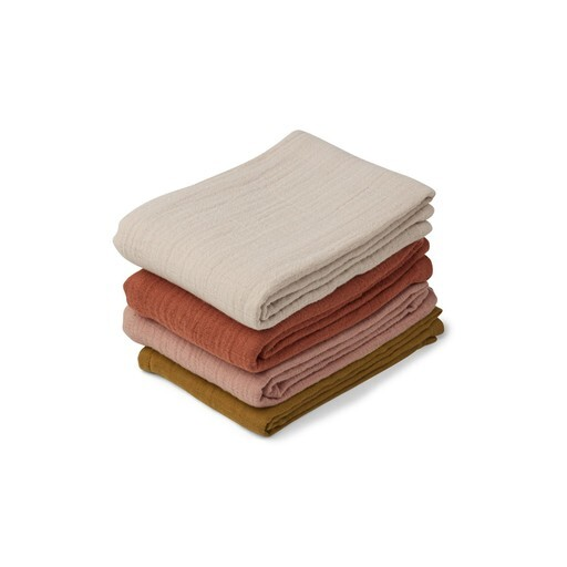 Liewood - Leon muslin cloth - 4 pack