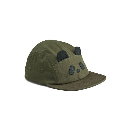 Liewood - Rory cap Panda hunter green