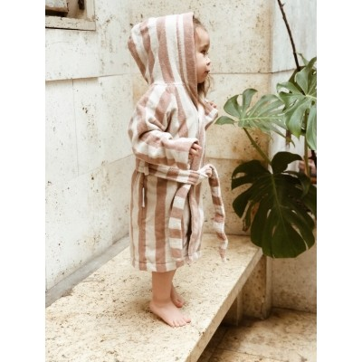 Liewood - Reggie bathrobe yellow mellow/sandy