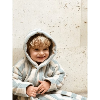 Liewood - Reggie bathrobe sea blue/sandy
